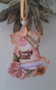 sewing dress tag