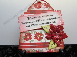 poinsettia red tag