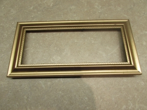 gold frame before