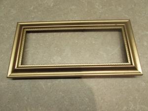 gold frame before