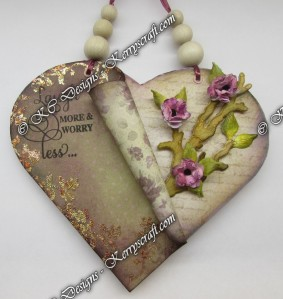 heartfelt altered art