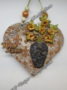 heartfelt creations leafy branch