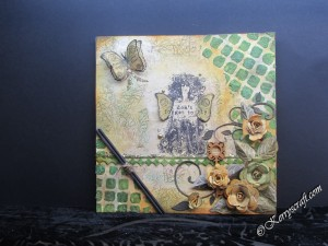 card using Finnabair & prima products