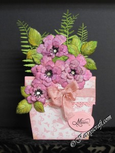 heartfelt Arianna bloom flower pot