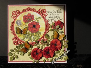 penny black botanical notes card