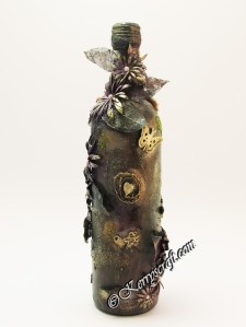 altered art bottle five