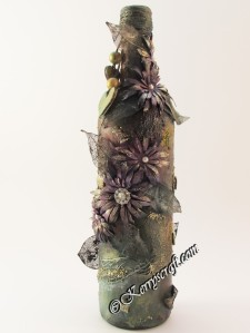 altered art bottle three
