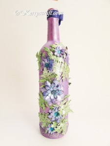 hearfelt creations delightful daisy bottle