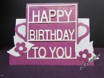 Spellbinders Decorated birthday die