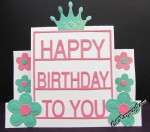 Spellbinders Decorated Birthday