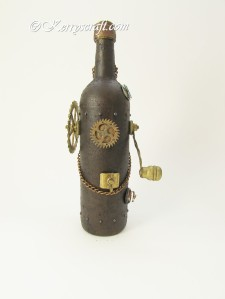 steampunk bottle back