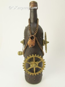 steampunk bottle front