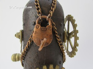 steampunk close up