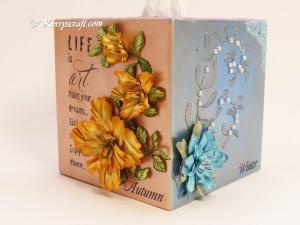tissue box corner 4
