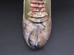decoupage shoes front