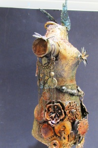 steampunk mannequin